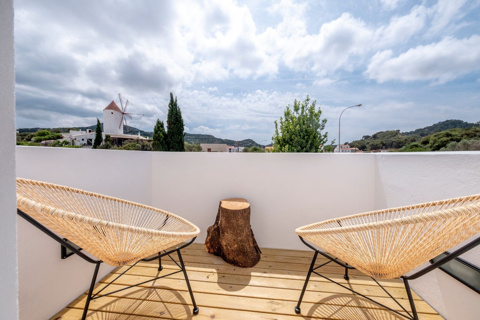 Double rooms with terraces m - 27